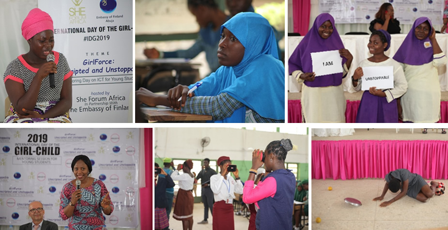 International Day of the Girl 2019 with 13 Schools